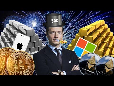 Bitcoin, Gold, Silber, DAX, Dow Jones Aktien Analysen RABATTE für ALLE! 50.000 Abonnenten Special!