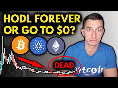 """MAJOR ALTCOIN RISK OF """"BUY & HODL""""   CRYPTO INVESTOR MISTAKES WITH BITCOIN"""