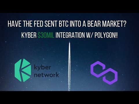 KYBER Network  Integrates MATIC Polygon Cryptocurrency Altcoin News