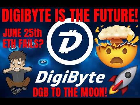 DGB DigiByte IS THE FUTURE! Why I LOVE DigiByte! IMPORTANT BTC & ETH DATES! DGB TO THE MOON!