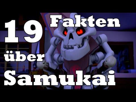 19 FAKTEN über SAMUKAI | Lego Ninjago Deutsch