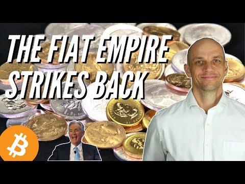 The Fiat Empire Strikes Back: Gold, Silver, Bitcoin Market Update 18th June