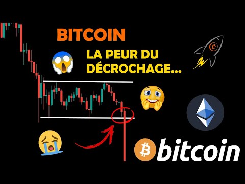 BITCOIN 😱 REBOND SUR LE BAS DU RANGE OU CHUTE FINALE ?! 😭 ++ ETHEREUM analyse crypto monnaie fr