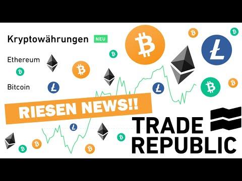 KRYPTOWÄHRUNGEN bald handelbar 🤑 Bitcoin, Ethereum, Litecoin, Bitcoin Cash 🤑 (Trade Republic Update)