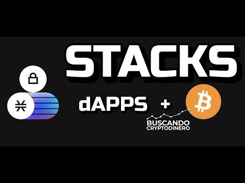 """STACKS """"STX"""" dAPPS en BTC!! ? ☞Predicción de PRECIOS ? 2021 2026 ☜    Me CONVIENE invertir ???"""