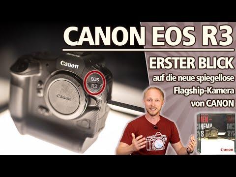 CANON EOS R3 | ERSTER BLICK auf die neue Flagship Kamera von CANON! Was bekannt ist & mein Fazit