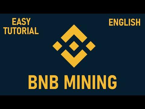 How to mine Binance Coin – BNB   easy tutorial