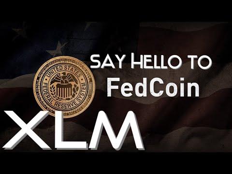 Say HELLO to FEDCOIN, Built on STELLAR XLM #stellar #xlm #cbdc #usdc