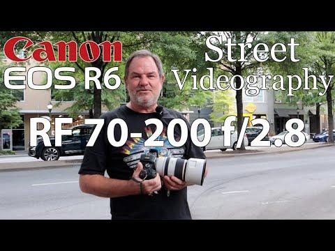 Canon EOS R6 • Street Videography RF 70-200 f/2.8