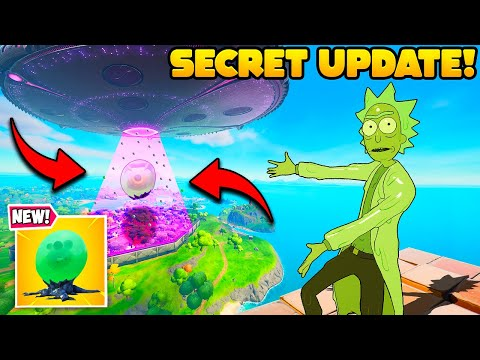 Epic Tried to HIDE This NEW UPDATE! (Secret Fortnite Event)