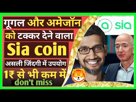 ?How to Buy Sia Coin in India | future price predictions | Shiba inu  alternative coin | Buyucoin