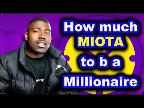 How much IOTA will make you a Millionaire by 2024