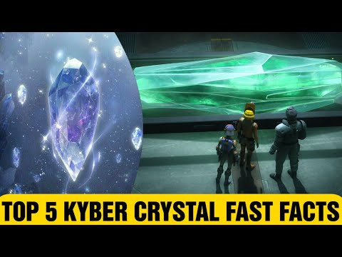 Top 5 Kyber Crystal Fast Facts – Star Wars #Shorts