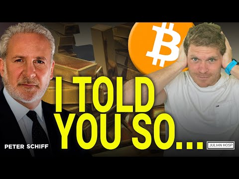 WATCH OUT! BITCOIN CAN VERY WELL GO TO ZERO! Peter Schiff and Julian Hosp (German Subtitles)
