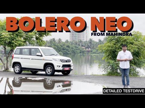 Mahindra's new 7 seater Multipurpose vehicle Bolero Neo   Testdrive video  by Baiju N Nair