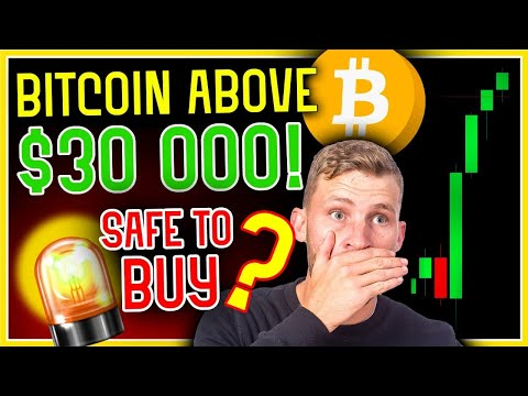 KEY BITCOIN INDICATOR SAYS BUY OR SELL ABOVE $30,000!