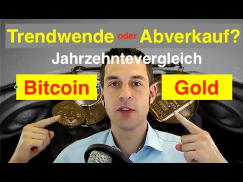 Trendwende oder Abverkauf? Gold und Bitcoin im Jahrzehntevergleich, XAUUSD, BTCUSD, Goldpreis, BTC