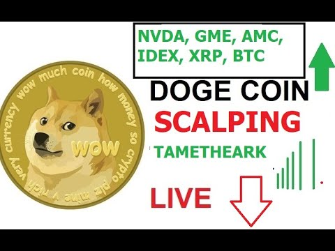 Scalping  #Doge Live Chart #BTC Prices – Elon Musk, Cathie Woods, Jack Dorsey Scalping #DOGECOIN ??