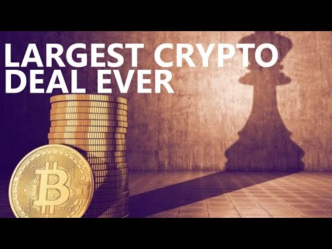 BIGGEST CRYPTO DEAL ON EARTH