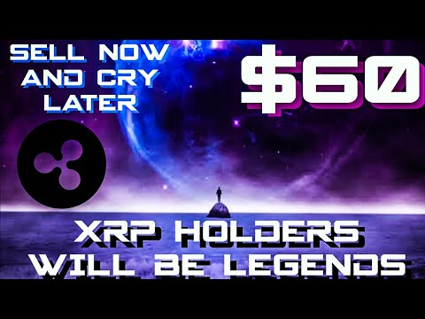 XRP HOLDERS WILL BE LEGENDS !!! SELL XRP NOW AND CRY LATER !!!! #RIPPLE