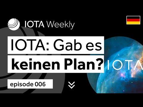 IOTAWeekly 006: IOTAs Vergangenheit – gab es keinen Plan?