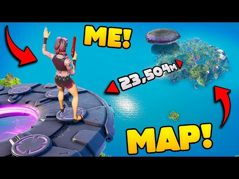 This UFO Just BROKE the FORTNITE MAP! – Fortnite Funny and WTF Moments! #1321
