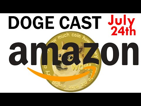 Amazon Closer to Eventually Adding Dogecoin! Elon Musk Doubles Down on Doge Taking Over!!