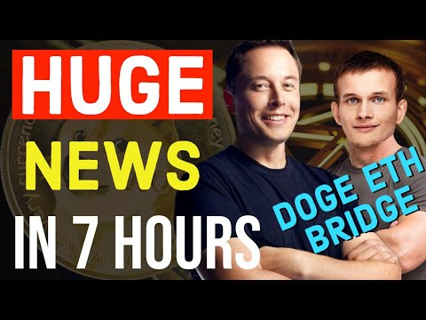 DOGECOIN ETHEREUM BRIDGE !! HUGE BREAKING NEWS TODAY ...
