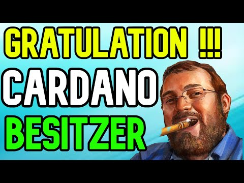 AN ALLE CARDANO BESITZER eure ZEIT IST GEKOMMEN ! – Cardano kryptowährung wird explodieren – krypto
