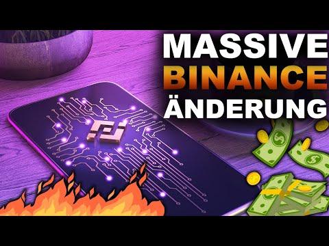 Binance Änderungen (das musst Du wissen) & Bitcoin Mega Mond Rallye