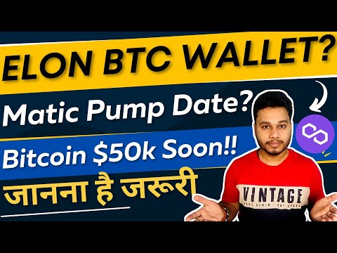 Bitcoin News Today and Polygon Matic Price Prediction  Best Cryptocurrency To Invest 2021 Matic Coin
