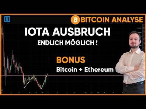IOTA und Ethereum mit doppelten Boden? Bitcoin bärischer Trendbruch!