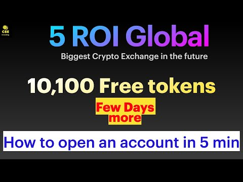 5 ROI exchange   how to open and apply verification for 5ROI account in 5 min