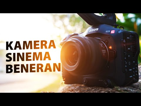 Ini Baru Kamera Sinema!!! | CANON EOS C70 Indonesia