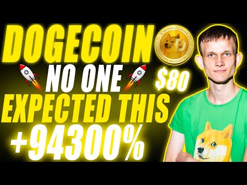 What Vitalik Buterin Just Did With Dogecoin & Why DOGE Will Reach $80 (LATEST NEWS)
