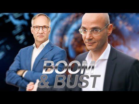 """Boom & Bust #3 – """"Gold, Bitcoin, Notenbankensozialismus"""" mit Special Guest Thorsten Polleit"""