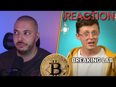 REACTION: Erderwärmung durch Bitcoin-Mining? von @Breaking Lab | So viele Falschinformationen!