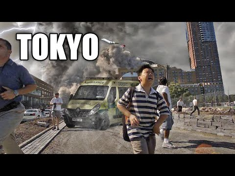 The Tokyo Olympics are on the verge of collapse! The strongest hurricane and hail storm hit Japan!