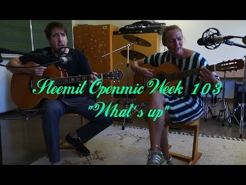 "Steemit Openmic Week 103: Katalina @senzenfrenz covering ""4 Non Blondes – What's Up"""