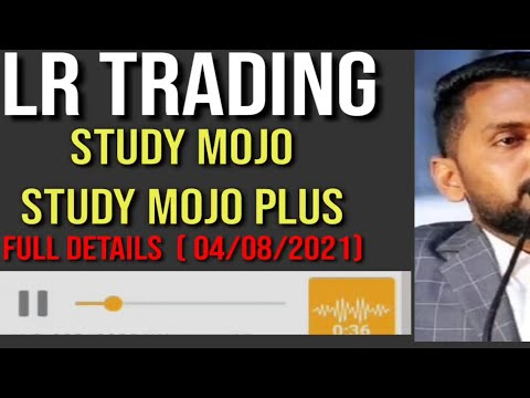 LR TRADING| MORRIS COIN | STUDY MOJO | STUDY MOJO PLUS PAYOUT FULL DETAILS | MD NISHAD | TRADING UPD