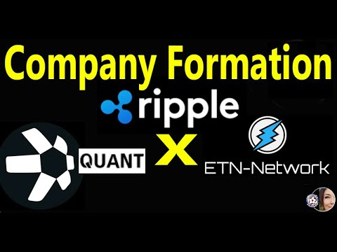 Ripple Forms NEW UK COMPANY w/ Quant & Crypto Electroneum,  Flare goes DEEP in $150B GAMING Industry