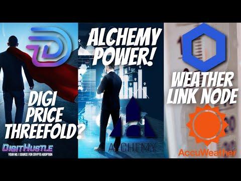 Digibyte Price To Threefold? Alchemy Pay Price Prediction & Weather Data On Chainlink!