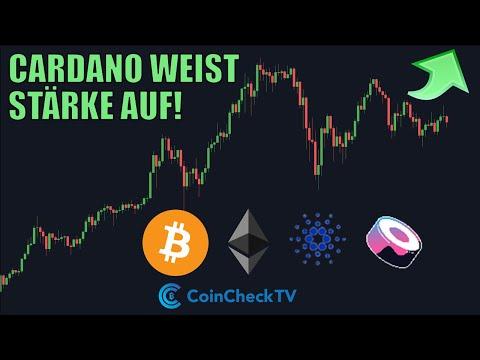 Cardano (ADA) kurz vor Breakout? Aktuelle Lage bei Bitcoin, Ethereum & Sushi (Analyse)