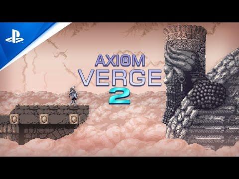 Axiom Verge 2 – Breach Gameplay Trailer   PS5, PS4, deutsche Untertitel