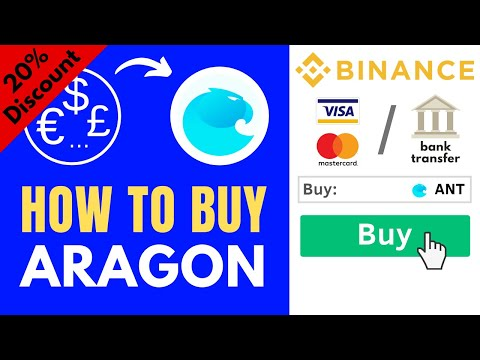 How to buy Aragon (ANT) ✅ Step-by-Step Tutorial [0.08% fees]