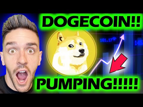 DOGECOIN PUMPING!!!!! #DOGECOIN #DOGE #DOGENEWS