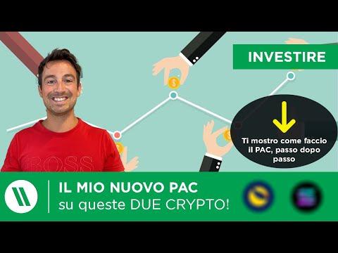 HO INIZIATO UN NUOVO PAC (e nuovo investimento) su QUESTE 2 CRYPTO!