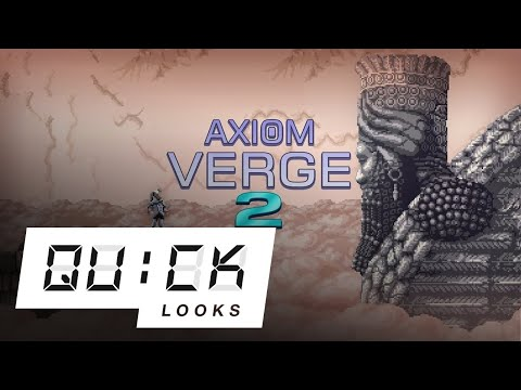 Let's play Axiom Verge 2! [Quick Look Live]