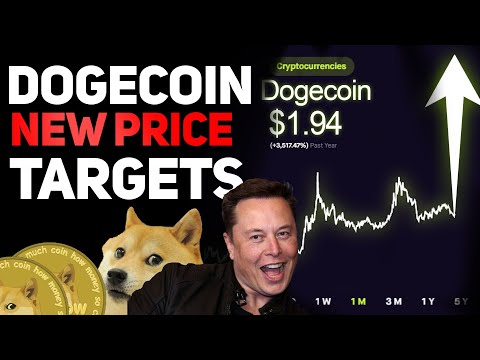 DOGECOIN GETS NEW PRICE TARGETS! (DOGECOIN PRICE PREDICTION UPDATE!)