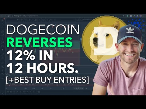 DOGECOIN – REVERSES 12% IN 12 HOURS [+BEST BUY ENTRIES]